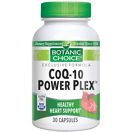 Botanic Choice CoQ10 Power Plex Dietary Supplement Capsules - 30 ea.