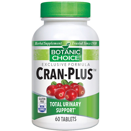Botanic Choice Cran-Plus Herbal Supplement Tablets - 60 ea.