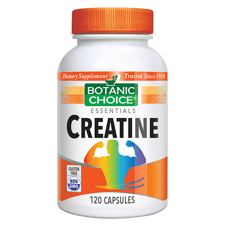 Botanic Choice Creatine Dietary Supplement Capsules - 120 ea