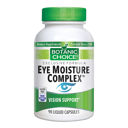 Botanic Choice Eye Moisture Complex Dietary Supplement Liquid Capsules - 90 ea