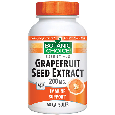 Botanic Choice Grapefruit Seed Extract 200 mg Dietary Supplement Capsules - 60 ea.