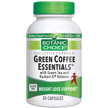 Botanic Choice Green Coffee Essentials - 30 ea