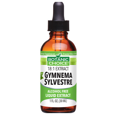 Botanic Choice Gymnema Sylvestre Herbal Supplement Liquid - 1 oz.