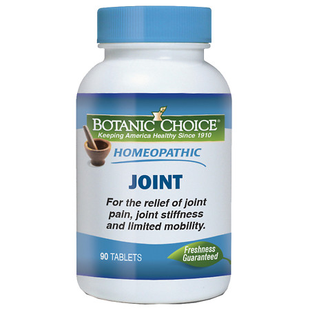Botanic Choice Homeopathic Joint Formula, Tablets - 90 ea