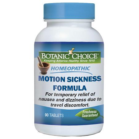 Botanic Choice Homeopathic Motion Sickness Formula, Tablets - 90 ea