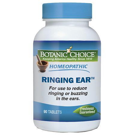 Botanic Choice Homeopathic Ringing Ear Formula, Tablets - 90 ea