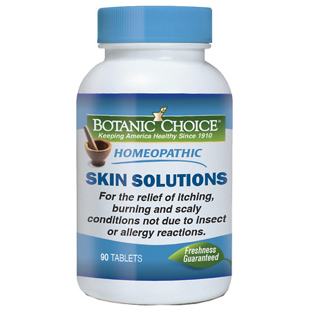 Botanic Choice Homeopathic Skin Solutions Formula, Tablets - 90 ea