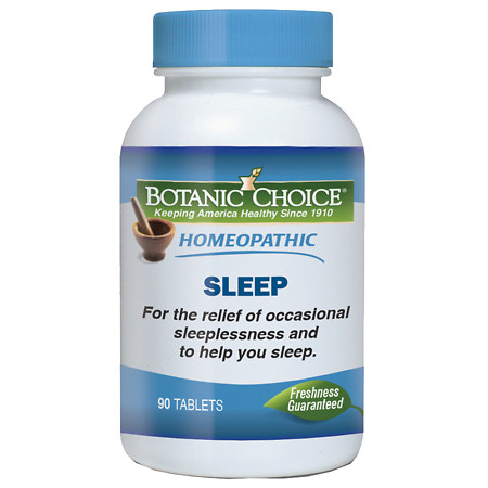 Botanic Choice Homeopathic Sleep Formula, Tablets - 90 ea