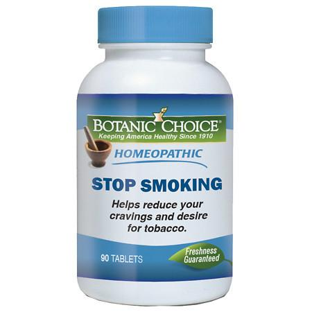 Botanic Choice Homeopathic Stop Smoking Formula, Tablets - 90 ea