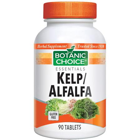 Botanic Choice KelpAlfalfa Herbal Supplement Tablets - 90 ea.
