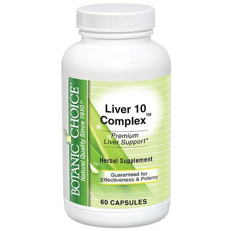 Botanic Choice Liver 10 Complex - 60 ea