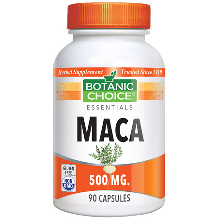 Botanic Choice Maca 500 mg Herbal Supplement Capsules - 90 ea.