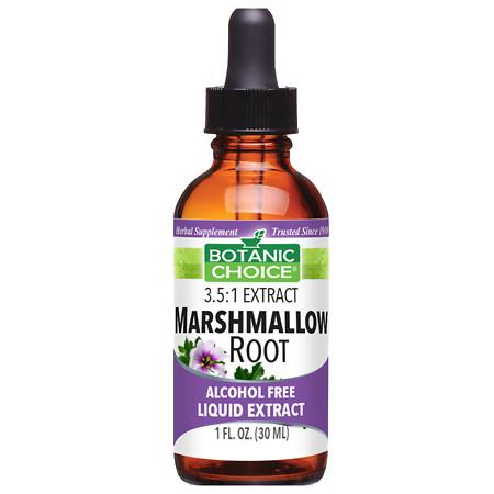 Botanic Choice Marshmallow Root Herbal Supplement Liquid - 1 oz.