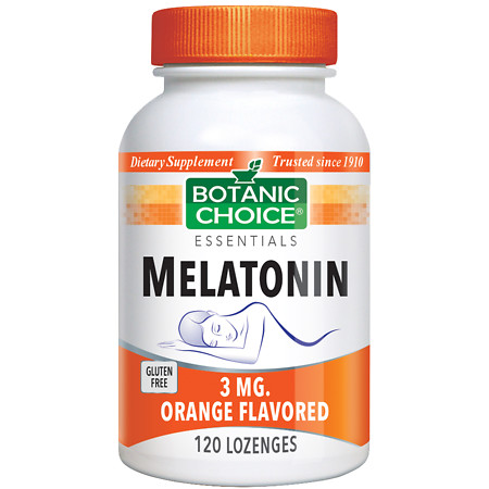Botanic Choice Melatonin 3 mg Dietary Supplement Lozenges - 120 ea.