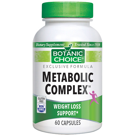 Botanic Choice Metabolic Complex Dietary Supplement Capsules - 60 ea.