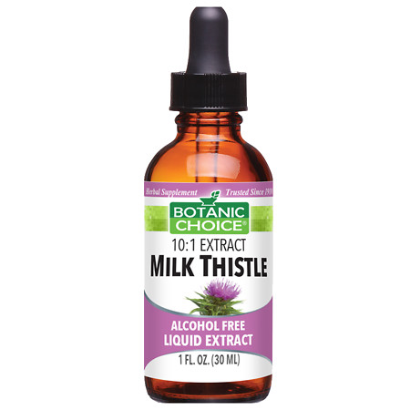 Botanic Choice Milk Thistle Herbal Supplement Liquid - 1 oz.