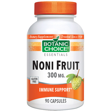 Botanic Choice Noni Fruit 300 mg Dietary Supplement Capsules - 90 ea.