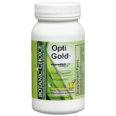 Botanic Choice Opti Gold Dietary Supplement Capsules - 60 ea.