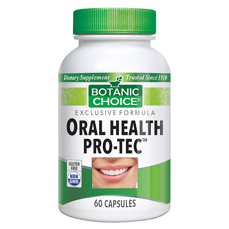 Botanic Choice Oral Health Pro-Tec - 60 ea