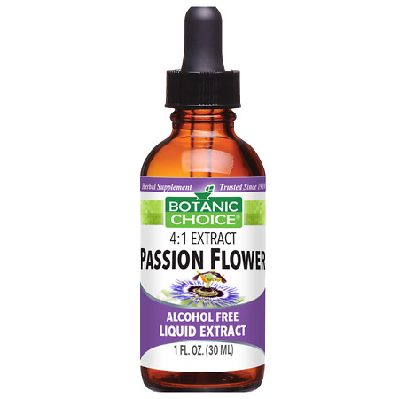 Botanic Choice Passion Flower Herbal Supplement Liquid - 1 oz.