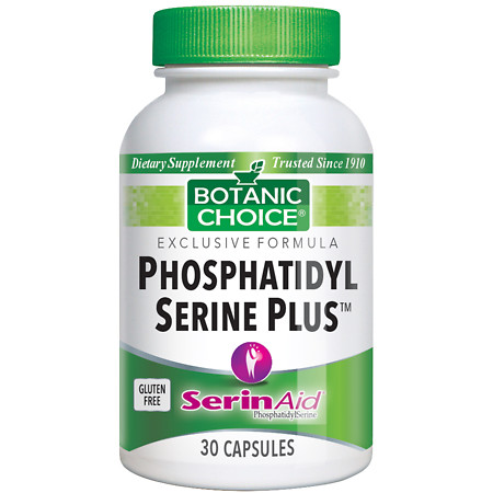 Botanic Choice Phosphatidyl Serine Plus 100 mg Dietary Supplement Capsules - 30 ea.