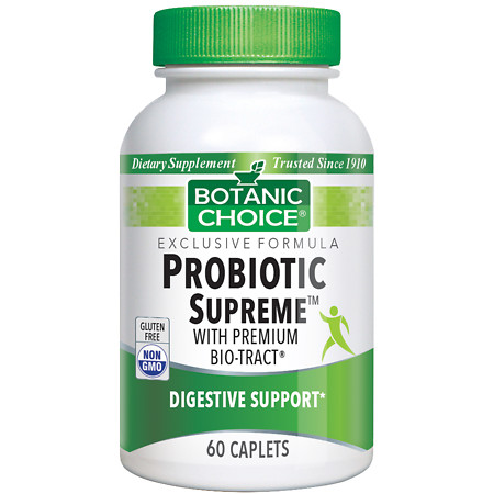Botanic Choice Probiotic Supreme with BIO-tract Dietary Supplement Caplets - 60 ea.