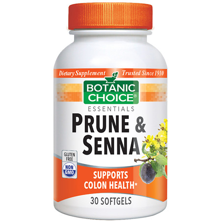 Botanic Choice Prune & Senna Dietary Supplement Softgels - 30 ea.