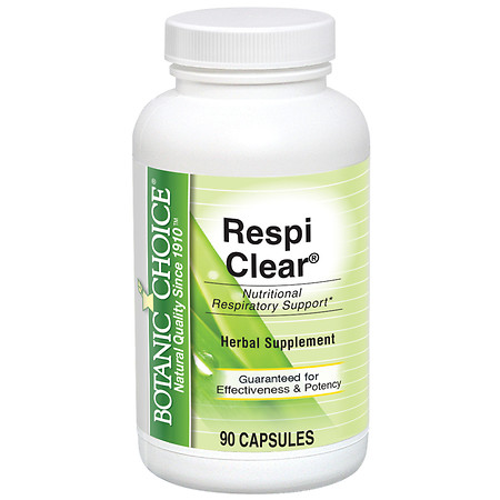Botanic Choice Respi Clear Herbal Supplement Capsules - 90 ea