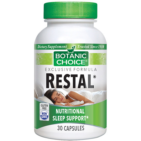 Botanic Choice Restal Sleep Support Herbal Supplement Capsules - 30 ea.