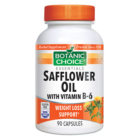 Botanic Choice Safflower Oil with Vitamin B6 - 90 ea