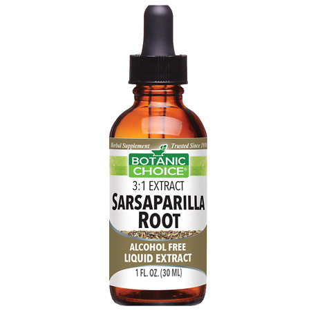 Botanic Choice Sarsaparilla Root Herbal Supplement Liquid - 1 oz.