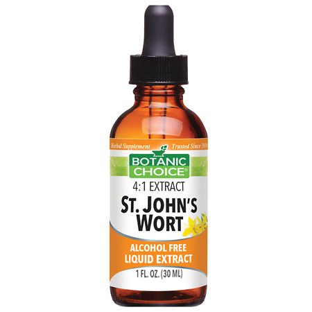 Botanic Choice St. John's Wort Herbal Supplement Liquid - 1 oz.