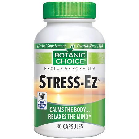 Botanic Choice Stress-Ez Herbal Supplement Capsules - 30 ea.