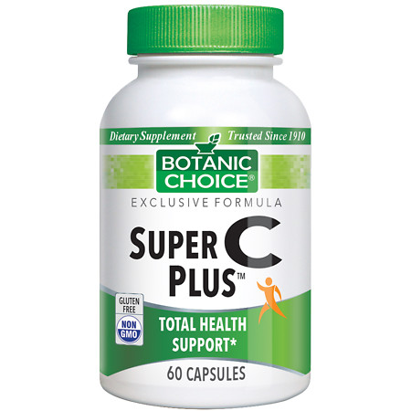 Botanic Choice Super C Plus Dietary Supplement Capsules - 60 ea.