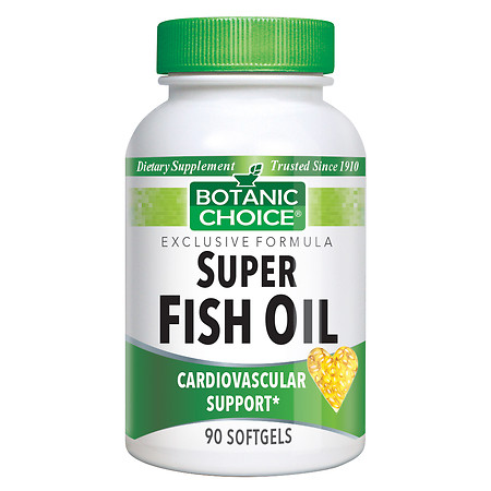 Botanic Choice Super Fish Oil Dietary Supplement Softgels - 90 ea