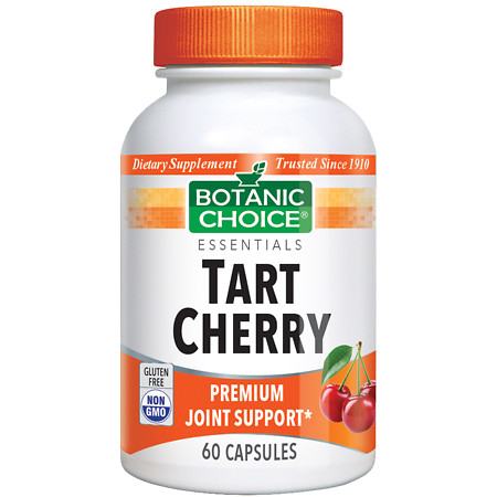 Botanic Choice Tart Cherry Dietary Supplement Capsules - 60 ea.