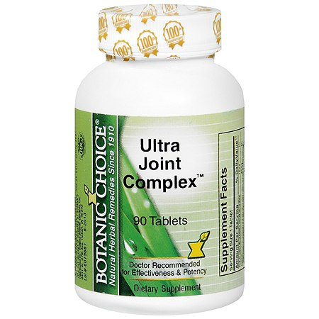 Botanic Choice Ultra Joint Complex Dietary Supplement Tablets - 90 ea.