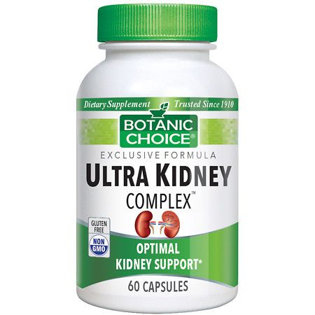 Botanic Choice Ultra Kidney Complex Dietary Supplement Capsules - 60 ea.