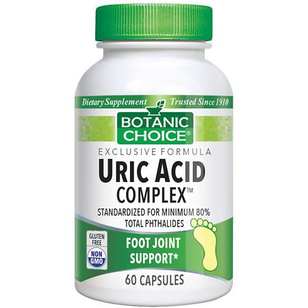 Botanic Choice Uric Acid Complex Dietary Supplement Capsules - 60 ea.