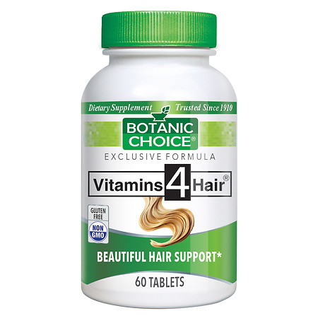 Botanic Choice Vitamins for Hair Formula Dietary Supplement Tablets - 60 ea