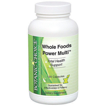 Botanic Choice Whole Foods Power Multi Dietary Supplement Capsules - 120 ea.