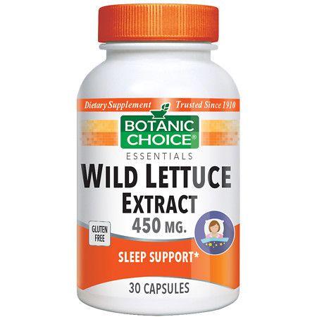Botanic Choice Wild Lettuce Extract - 30 ea