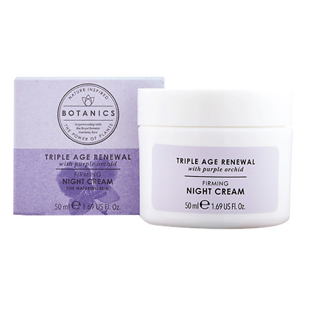 Botanics Triple Age Renewal Night Cream - 1.69 oz.