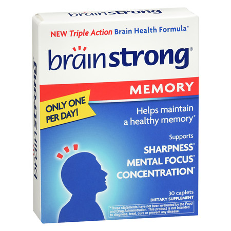 BrainStrong Memory Support - 30 ea