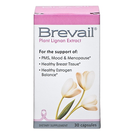 Brevail Plant Lignan Extract, Capsules - 30 ea