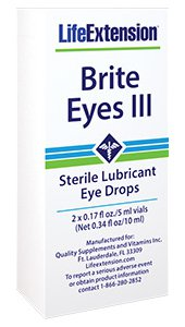 Brite Eyes III, 2 x 0.17 fl oz./5 ml vials (Net 0.34 fl oz/10 ml)
