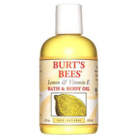 Burt's Bees Body & Bath Oil Lemon & Vitamin E - 4 fl oz