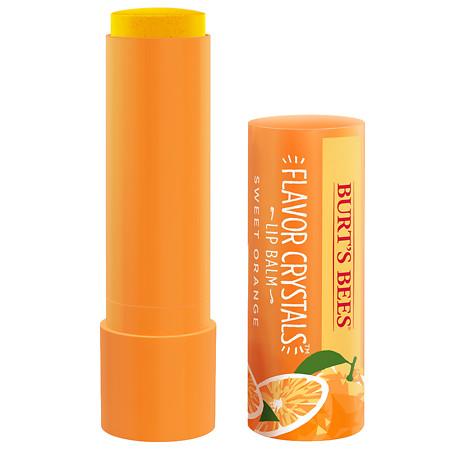 Burt's Bees Flavor Crystal Lip Balm Sweet Orange - 0.15 oz.