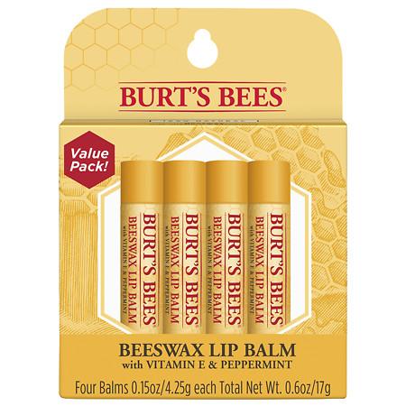 Burt's Bees Lip Balm Beeswax - 0.15 oz.
