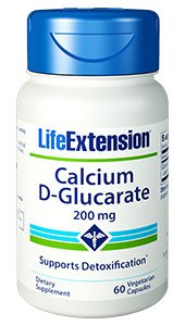 Calcium D-Glucarate, 200 mg, 60 vegetarian capsules